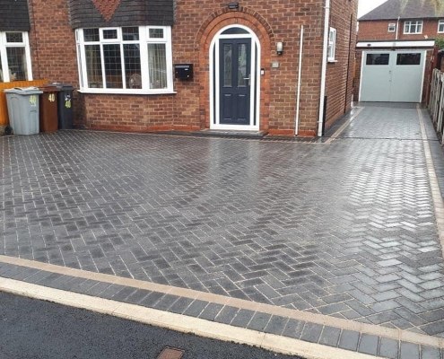 block paving driveway Worksop