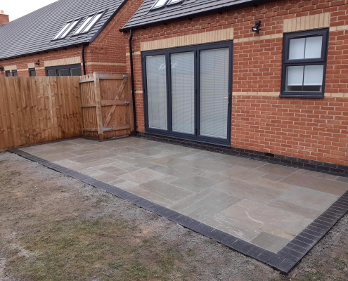 small patio project