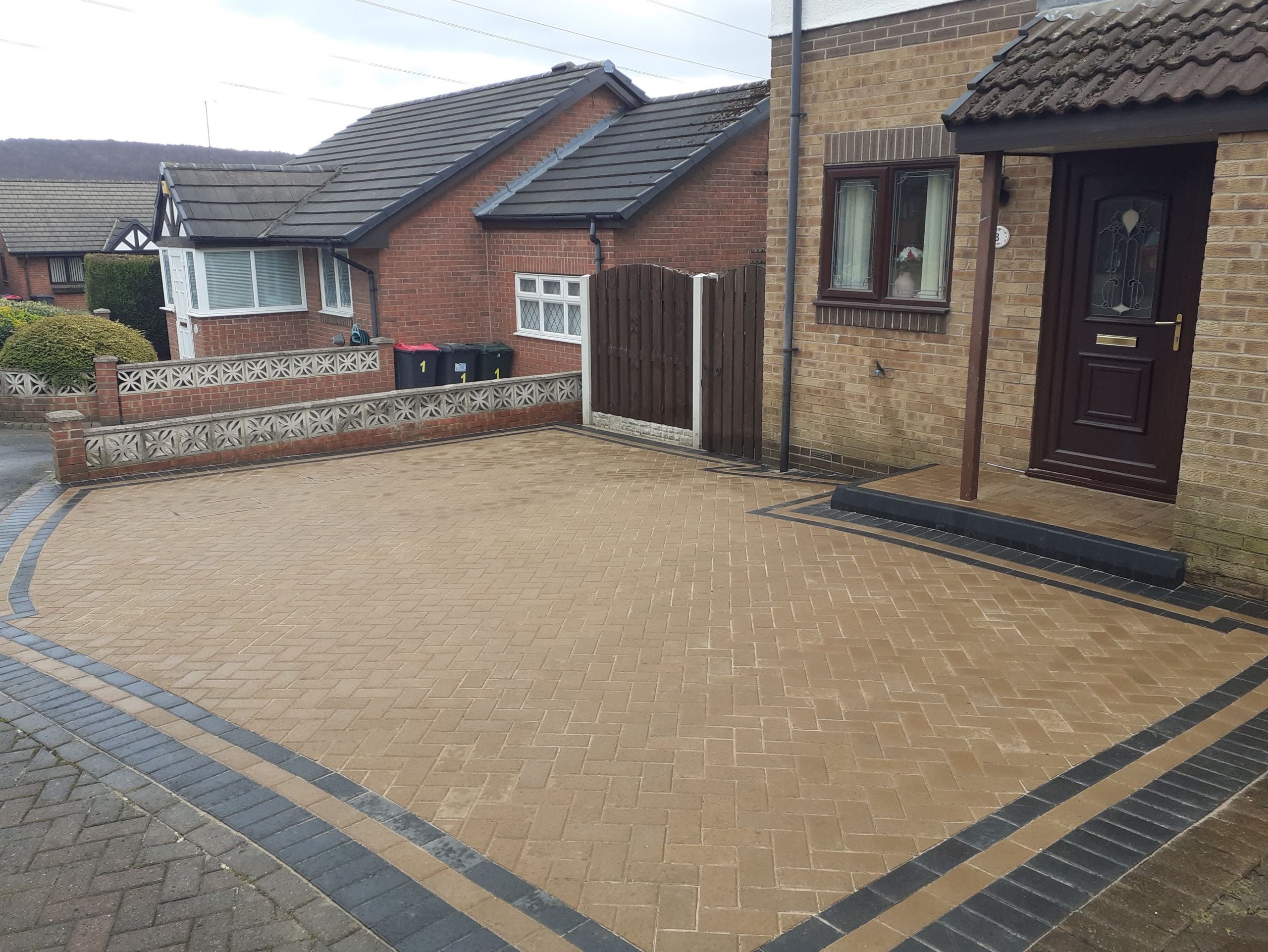 driveway completed in Rotherham