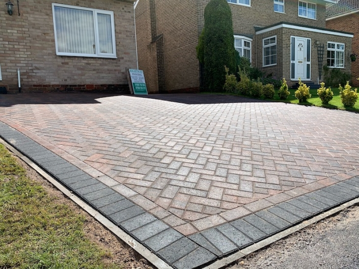 block paving completed in Anston