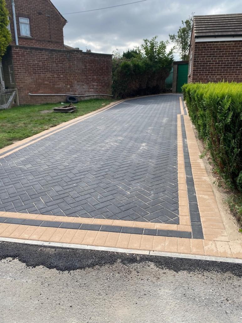 block paving in Mansfield