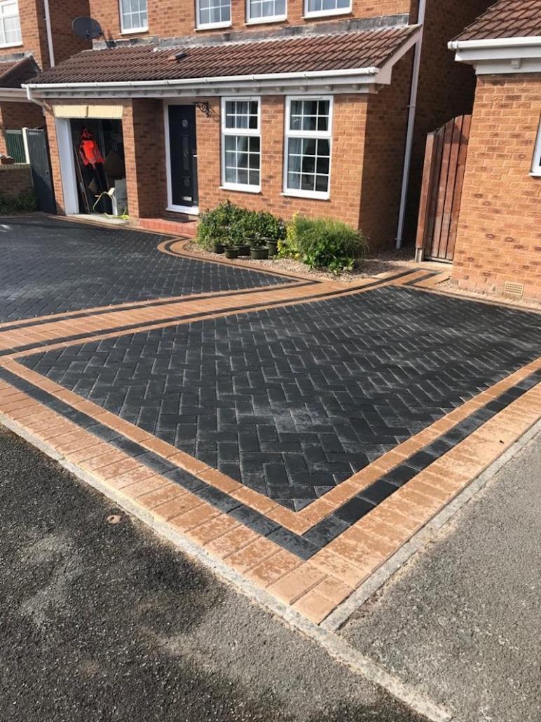Charcoal Block Paving Dinnington
